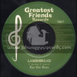 "Greatest Friends-7""-High Grade / Lorenzo + Lambsbread / Ras Mac Bean"