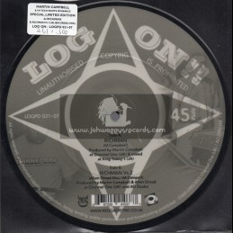 """Log On-7""""-Picture Disc-Richman / Martin Campbell"""