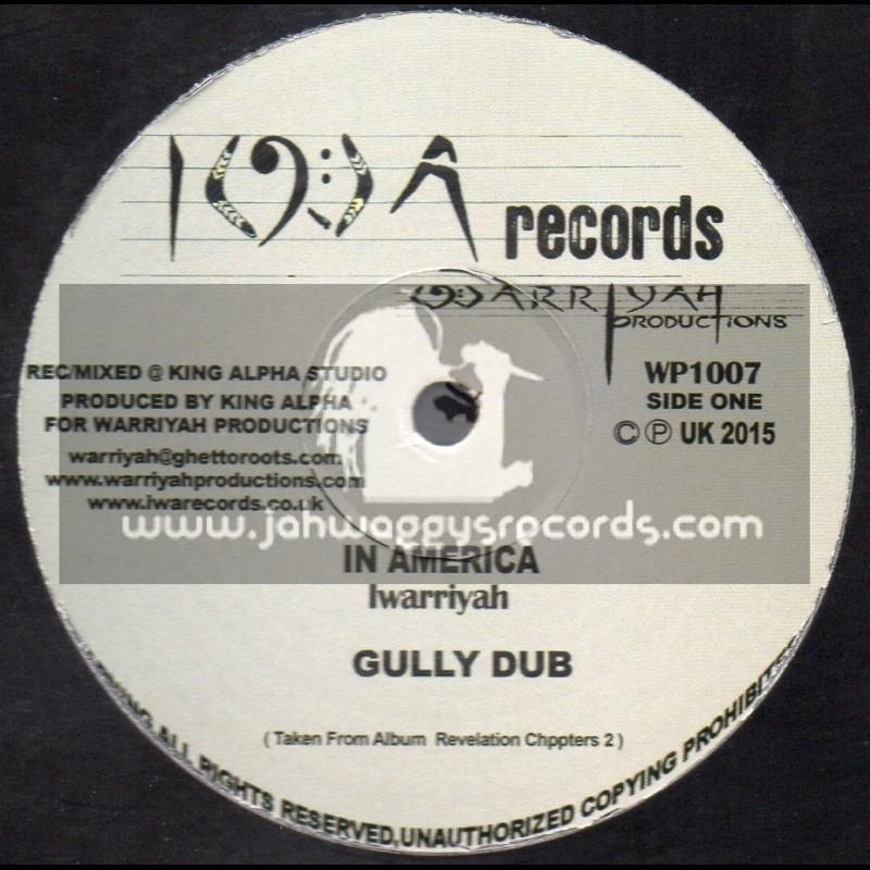 "I W A Records-10""-In America + Wonderful Councelor / Iwarriyah - King Alpha"