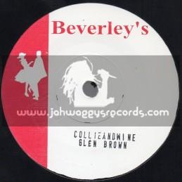 """Beverleys Records-7""""-Judge Dread In Court / Derrick Morgan + Collie And Wine / Glen Brown"""