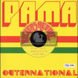 """Rockers Revolt-7""""-Equality And Justice + I Still Love You / Pama International"""