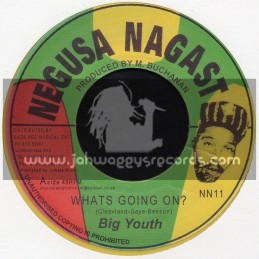 "Negusa Nagast-7""-Whats Going On + Wake Up Everybody / Big Youth"