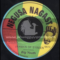 "Negusa Nagast-7""-Jah Man Of Syreen + Hotter Fire / Big Youth"