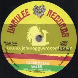 "Unrulee Records-7""-Rolling Rolling / Isha Bel"