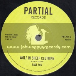 "Partial Records-7""-Wolf In Sheep Clothing / Paul Fox"