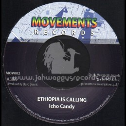 "Movements Records-7""-Ethiopia Is Calling / Icho Candy"