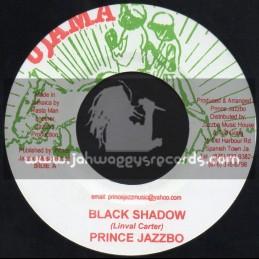 """Ujama-7""""-Black Shadow / Prince Jazzbo"""
