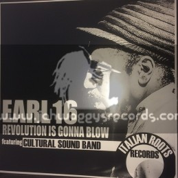 """Italian Roots Records-12""""-Revolution Is Gonna Blow / Earl 16 - Cultural Sound Band"""