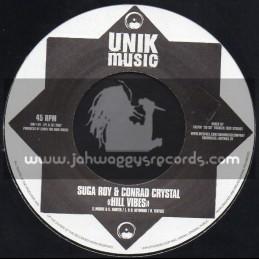"UNIK Music-7""-Hill Vibes / Suga Roy & Conrad Crystal"