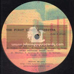 """Matxino Records-10""""-Natty Dread No Dead + Before Its Too Late & Under Pressure Skank / The First Light Orchestra"""