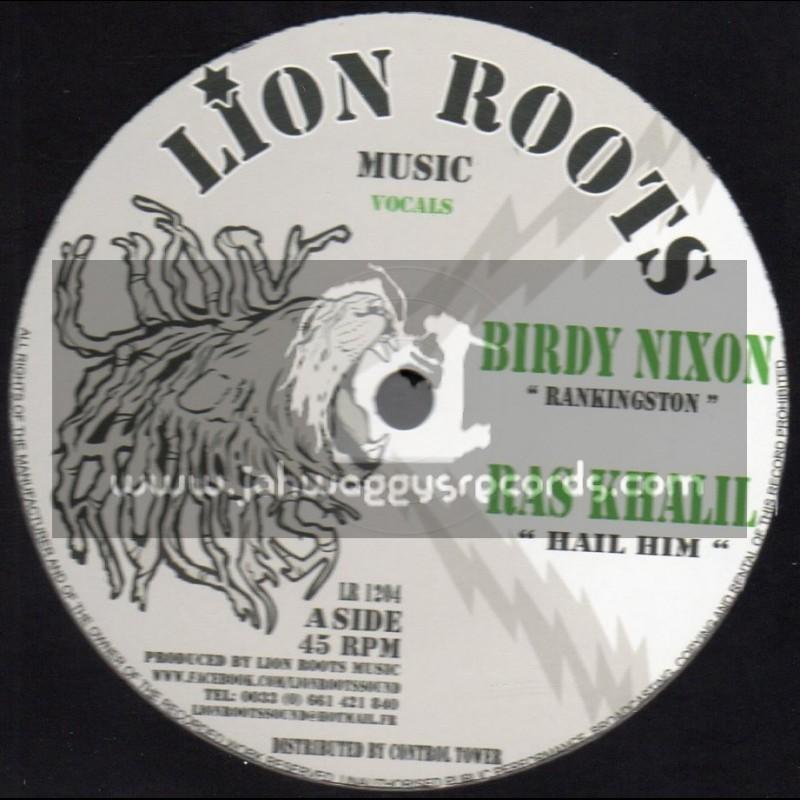 "Lion Roots Music-12""-Rankingston / Birdy Nixon + Hail HIM / Ras Khalil"