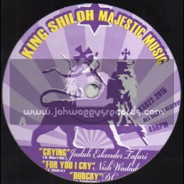 "King Shiloh Records-12""-Crying + Revealing /Judah Eskender Taffari + For You I Cry / Nish Wadada & Farm Up / Colah Colah"