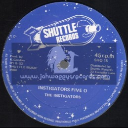 "Shuttle Records-12""-Instigators Five O / The Instigators"