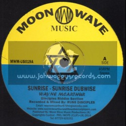 "Moon Wave Music-12""-Sunrise / Wayne McArthur + Travelling / Wayne McArtur"