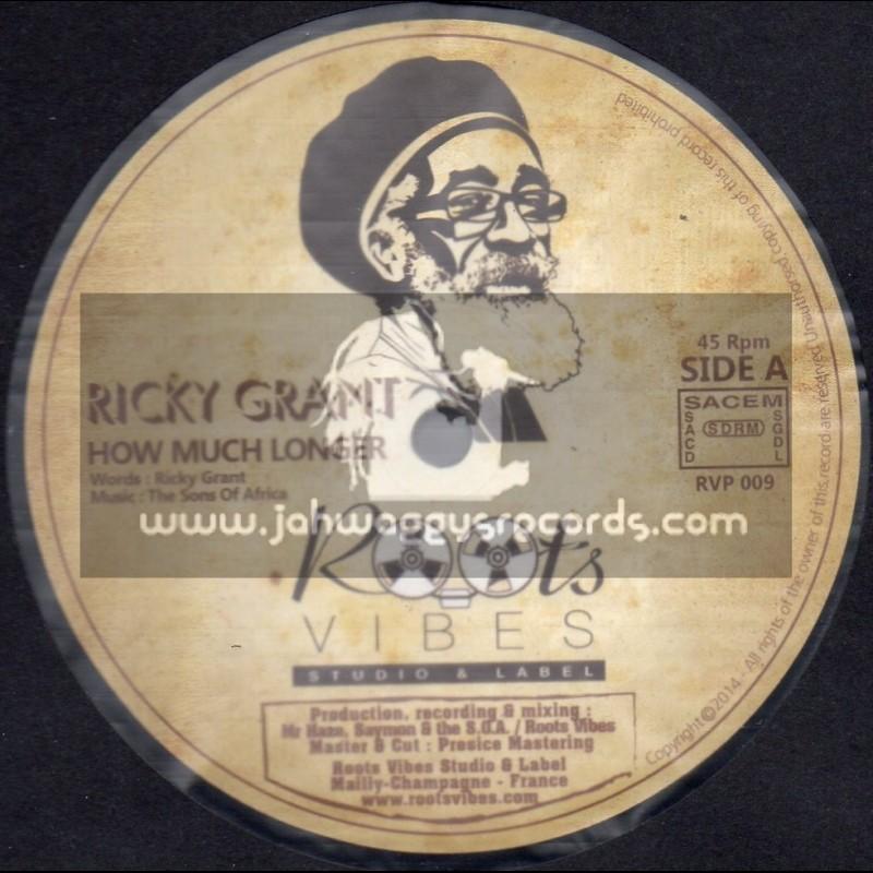 """Roots Vibes-12""""-How Muck Longer / Ricky Grant + Strange Music / The Strangers"""