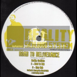 "Reality Sound System-12""-Road To Deliverance / Reality Souljahs + Jah Golden Pen / Reality Souljahs"