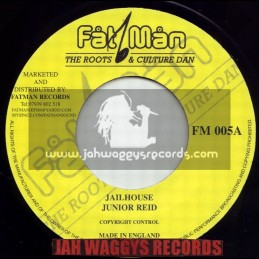 "FATMAN RECORDS-7""-JAILHOUSE / JUNIOR REID"