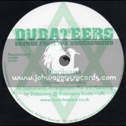 """Dubateers 7"""" Marjuana / Tena Star Meets The Dubateers"""