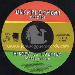 "Unemployment Records-7""-Africa Is Calling / Horace Martin"