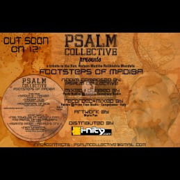 """Psalm Collective-12""""-Footsteps Of Madiba / Various Artist"""