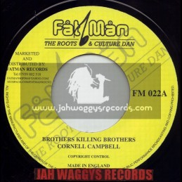 """FATMAN RECORDS-7""""-BROTHERS KILLING BROTHERS / CORNELL CAMBELL"""