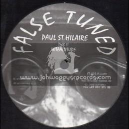 """False Tuned-12""""-Dub It With Aatitude / Paul St . Hilaire"""