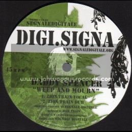 """Digi Signa-12""""-Weep And Mourn / Daddy Spencer + Give Thanks To Jah / U Roy"""