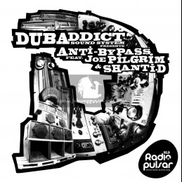 "Dub Addict Sound System-12""-Humanity Arise / Joe Pilgrim + The Toy Is Broken / Shanti D"