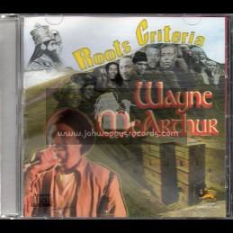 Moon Wave Music-CD-Roots Criteria / Wayne McArthur