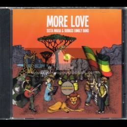 Dubass Musically Creation-CD-More Love / Sista Maria & Dubass Family Band