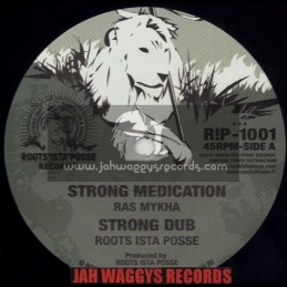 """ROOTS ISTA POSSE RECORDS-10""""-STRONG MEDICATION / RAS MYKHA"""