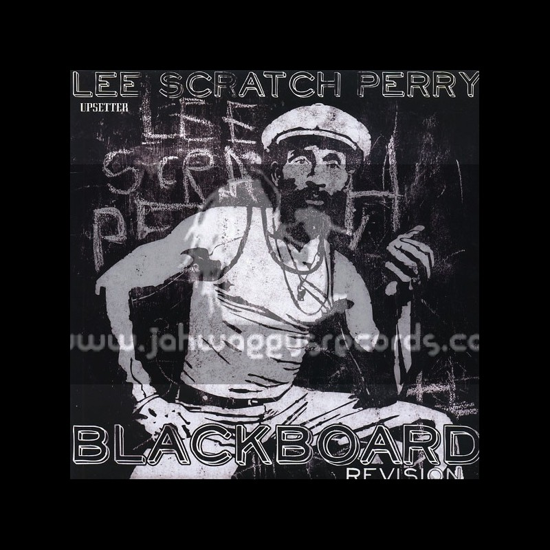 """Uppsetter-12""""-Blackboard Revision / Lee Perry + Return To The Jungle / Danny Red"""