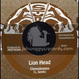 "Stud-7""-Lion Head / Clarenonians"