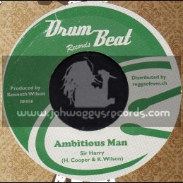 "Drum Beat Records-7""-Apples To Apples + Ambitious Man / Sir Harry"