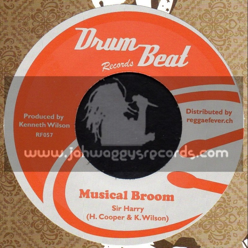 """Drum Beat Records-7""""-Early In The Morning / Clarendonians + Musical Broom / Sir Harry"""