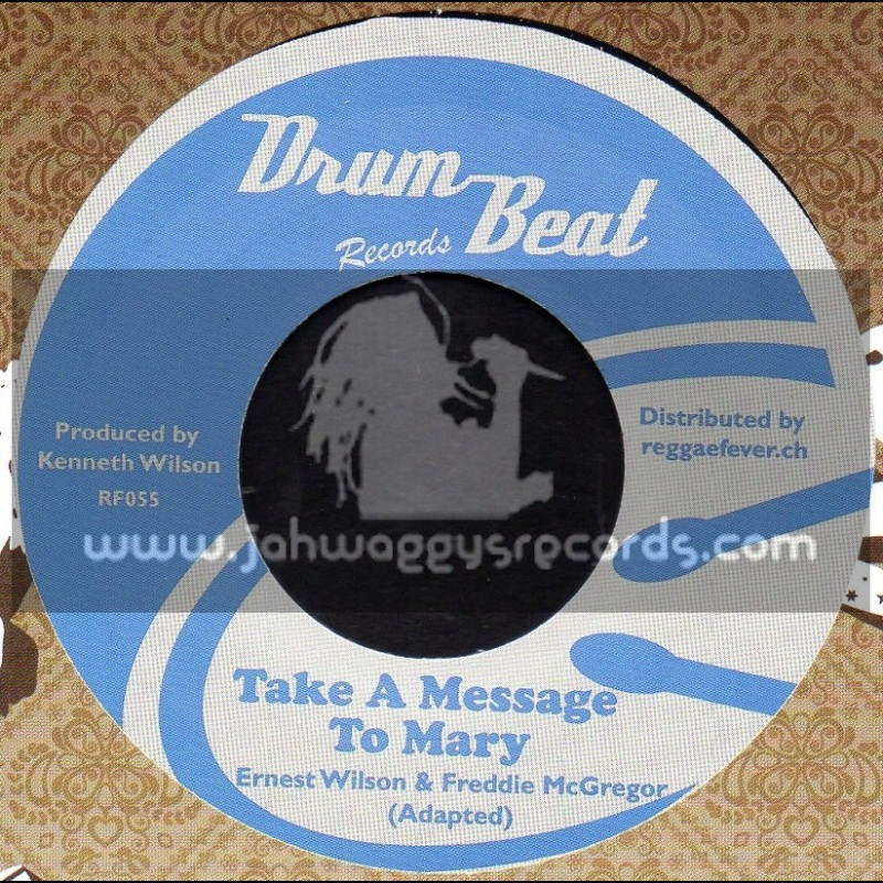 """Drum Beat Records-7""""-Take A Message To Mary / Ernest Wilson & Freddie McGregor + Spy 13 / Michael Martin & Hippy Boys"""