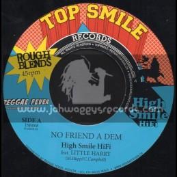 """Top Smile Records-7""""-No Friend A Dem / Little Harry"""