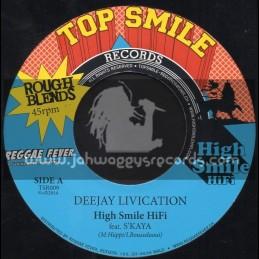 "Top Smile Records-7""-Deejay Livication / S Kaya"