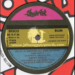 "Black Art Disco-10""-Milte Hi Ankhen Aka Bird In Hand / Sam Carty - Lee Perry And The Upsetters"