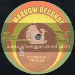 "Marrow Records-7""-The Keys Of Progress - Stalloman Ft. Mark Wonder"
