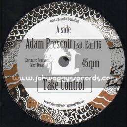 """Dreadwise-7""""-Take Control / Adam Prescott Feat. Earl 16"""