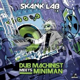 "Skank Lab-Vol-4-12""-Carefully + Warrior Dub / Dub Machinist Meets Miniman"