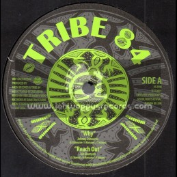 """Tribe 84-10""""-Why Johnny Osbourne + Reach Out / Jah Marnyah"""