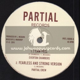 "Partial Records-10""-I Can Feel / Everton Chambers + Love Is My Armour / S Kaya"