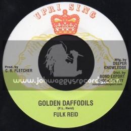 "Uprising-7""-Golden Daffodils / Fulk Reid"