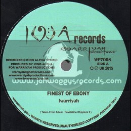 "I W A Records-7""-Finest Ebony / Iwarriyah"