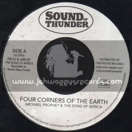 "Sound Of Thunder-7""-Four Corners Of The Earth / Michael Prophet & The Sons Of Africa"