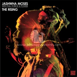 Sugar Shack Records-LP-The Rising / Jashwha Moses With Full Force & Power