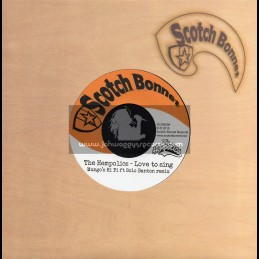 "Scotch Bonnet-7""-Love To Sing / The Hempolics & Solo Banton - Mungos Hi Fi"