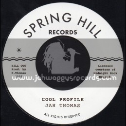 "Spring Hill Records-7""-Cool Profile / Jah Thomas"